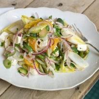 Angela Hartnett's Feta and Chicory Salad Recipe