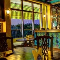 Mia Bella - A Restaurant with a View at Hauz Khas Village