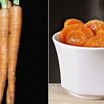 Raw carrots good, cooked carrots bad: our fickle food tastes