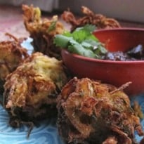 How to make the perfect onion bhajis