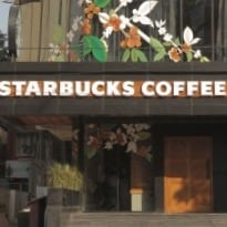 Starbucks opens first store in Bangalore