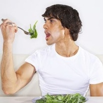 Does eating greens give dads healthier babies?