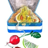 A Quick and Easy Noodle Salad for Lunch   The lunch box
