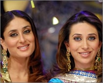 Karisma can't play Kajol's role in We Are Family: Kareena