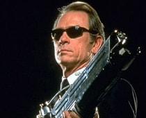 Tommy Lee Jones on for Men In Black 3