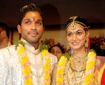 Allu Arjun Ties the Knot With Sneha Reddy