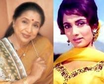 Why Asha Bhosle is at war with actor Sadhana