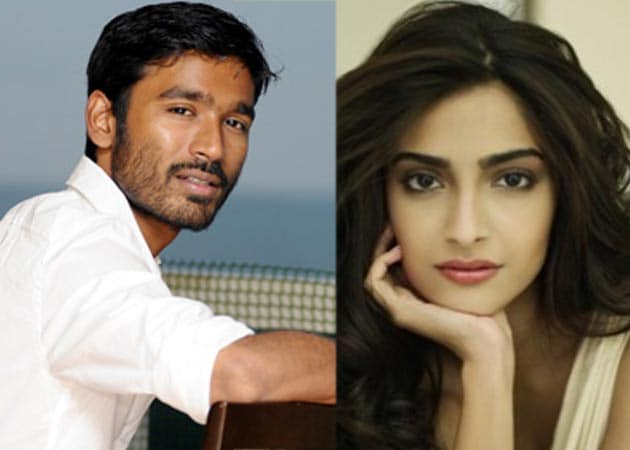 Sonam mum on film with Dhanush