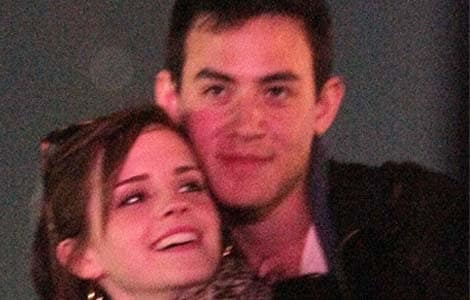 Emma Watson spotted kissing boyfriend at Coachella Festival