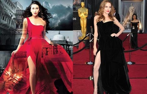 My pose in Dangerous Ishq not inspired from Jolie: Karisma