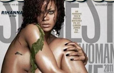 Rihanna won't strip for men's magazine