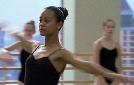 Zoe Saldana talks about why she quit ballet