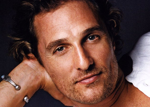 Matthew McConaughey likes to strip
