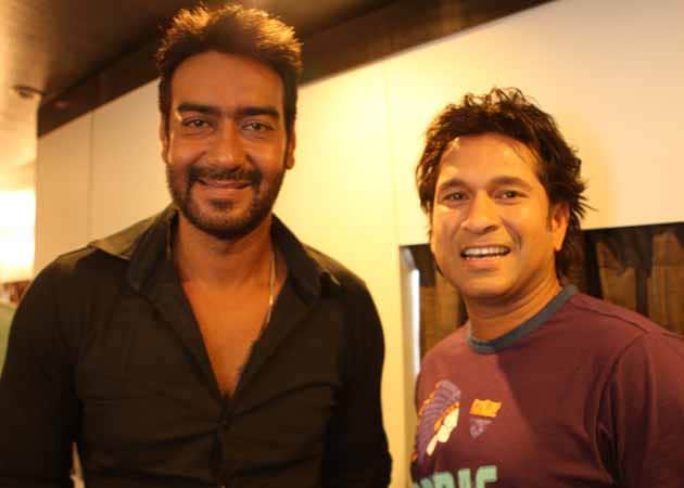 When Ajay Devgn bumped into Sachin Tendulkar