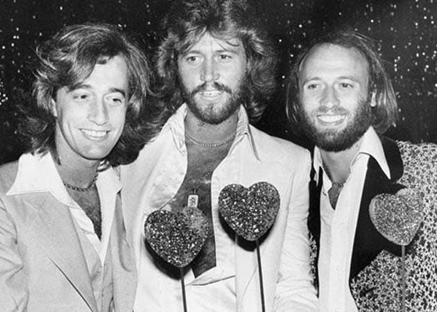 Barry Gibb Barry Gibb Wife Young