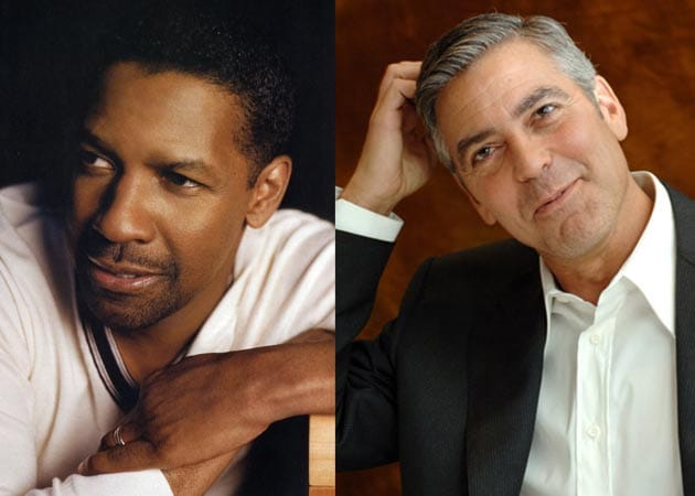 Clooney, Denzel named sexiest men over 50
