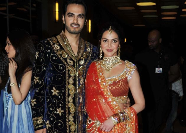 Inside Esha Deol's starry sangeet: The bride wore orange