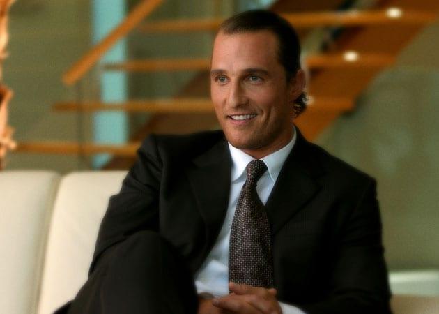 Matthew McConaughey cried when he had to be waxed