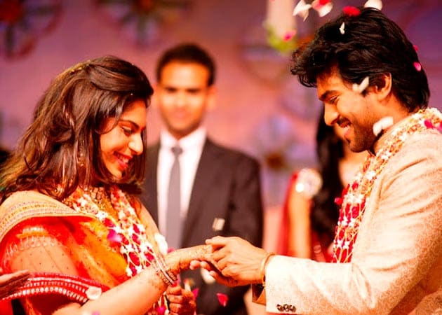 Chiranjeevi's son Ram Charan Teja preps for wedding