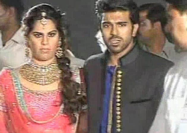 Ram Charan Teja's starry sangeet: One last hurrah for Chiranjeevi's son