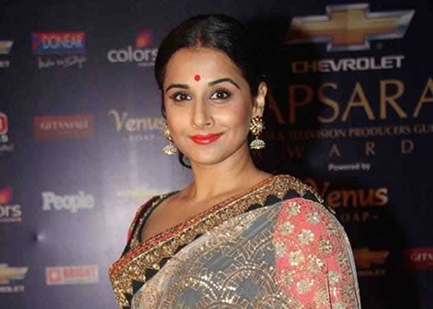 Vidya Balan nervous about comical role in Ghanchakkar