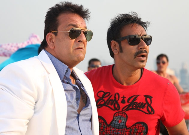 Sanjay Dutt, Ajay Devgn to shoot at the same studio