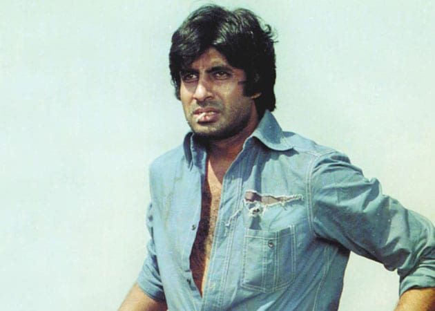 The young Amitabh Bachchan was 'in awe' of dacoit Man Singh