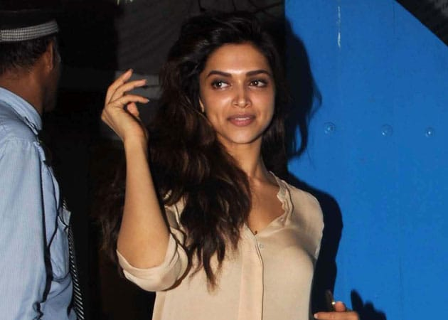 Days after falling ill on set, Deepika is well enough to party