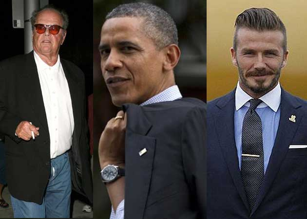 Jack Nicholson, Obama on David Beckham's dinner party wishlist