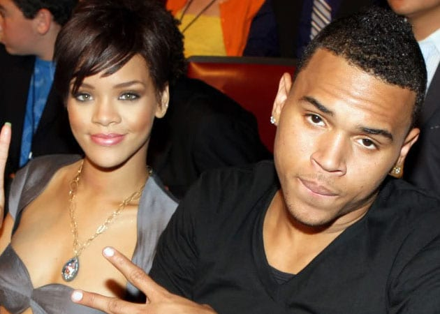Chris Brown And Rihanna 2007