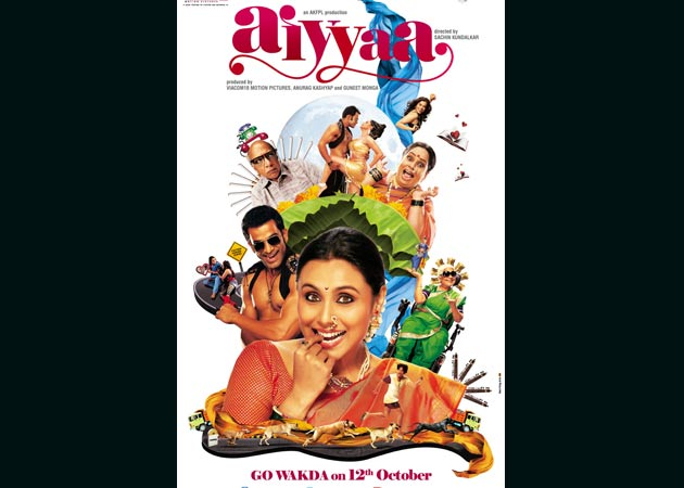 Rani Mukherji turns Marathi mulgi for Aiyya