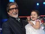Amitabh Bachchan shows some baby love on KBC 6