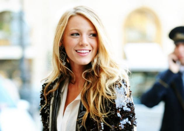 Blake Lively is back to work after surprise wedding to ... Blake Lively Movies
