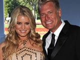 Jessica Simpson's dad pleads not guilty to drunk driving