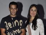 Kareena Kapoor happy for Salman Khan's success