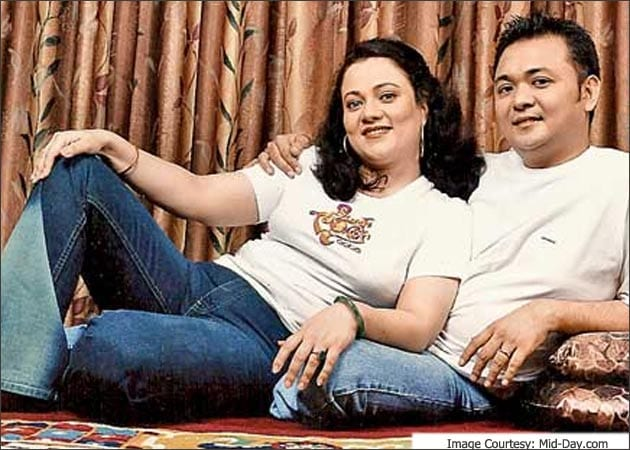 Remember the Murphy baby? He's married to ex-starlet Mandakini