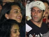 All seems to be well between Sonakshi Sinha and Salman Khan