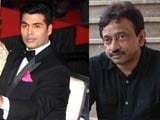 I realised he's still alive: Karan Johar on Ram Gopal Varma's tweets