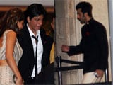 Saif Kareena wedding: Shah Rukh Khan, Ranbir Kapoor attend the reception