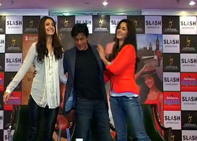 SRK begins promotions of Jab Tak Hai Jaan from Yash ...