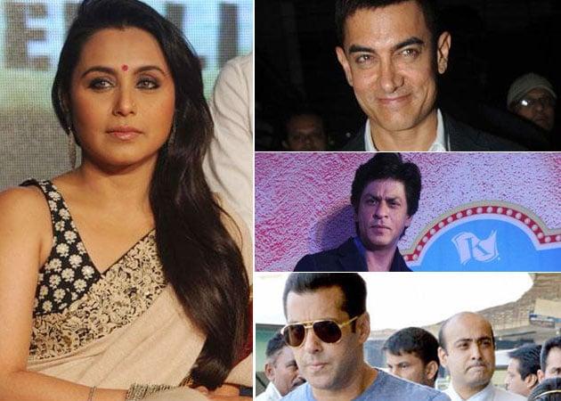 Rani Mukherji has a soft corner for Shah Rukh, Salman and ...