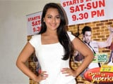 Sonakshi Sinha's hand-print on Walk of Stars