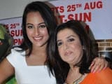 No animosity with Farah Khan: Sonakshi Sinha