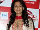 Juhi Chawla begins shooting for <i>Gulab Gang</i>