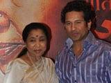 Sachin Tendulkar has always been there for me: Asha Bhosle