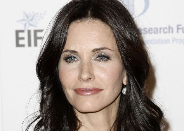 Courteney Cox comfortable filming naked scenes