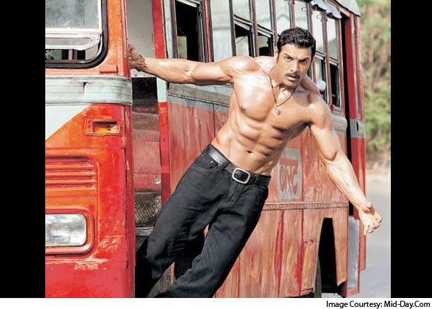 John Abraham gets into gangster s skin for Shootout At WadalaJohn Abraham Body Building In Shootout At Wadala