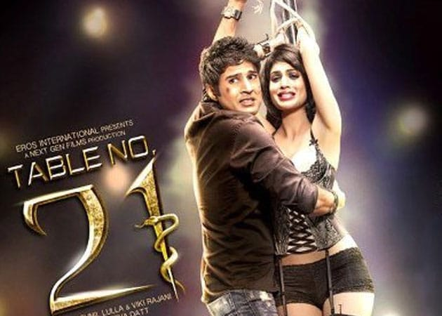 Today 39 s big release rajeev khandelwal in table no 21 for Table no 21 movie