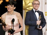 Anne Hathaway, Christoph Waltz, <i>Amour</i> win as Oscars share out the honours