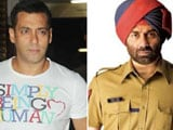 Salman Khan, Sunny Deol may take each other on this Eid